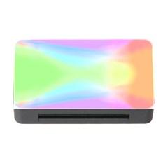 Abstract Background Colorful Memory Card Reader With Cf by Simbadda