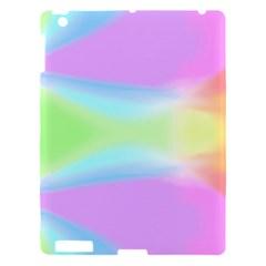 Abstract Background Colorful Apple Ipad 3/4 Hardshell Case by Simbadda