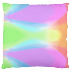 Abstract Background Colorful Large Cushion Case (one Side) by Simbadda
