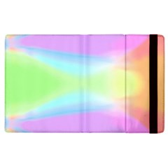 Abstract Background Colorful Apple Ipad 2 Flip Case by Simbadda