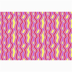 Pink Yelllow Line Light Purple Vertical Canvas 20  X 30   by Alisyart