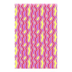 Pink Yelllow Line Light Purple Vertical Shower Curtain 48  X 72  (small)  by Alisyart