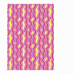 Pink Yelllow Line Light Purple Vertical Large Garden Flag (two Sides) by Alisyart