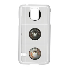 9 Power Buttons Samsung Galaxy S5 Case (white) by Simbadda