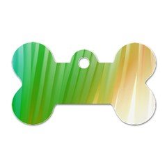 Folded Paint Texture Background Dog Tag Bone (two Sides) by Simbadda