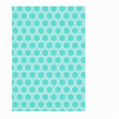 Plaid Circle Blue Wave Large Garden Flag (two Sides) by Alisyart