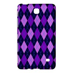 Plaid Triangle Line Wave Chevron Blue Purple Pink Beauty Argyle Samsung Galaxy Tab 4 (7 ) Hardshell Case  by Alisyart