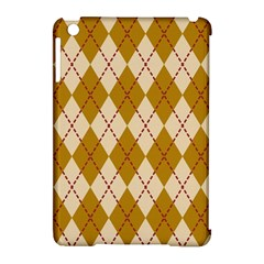 Plaid Triangle Line Wave Chevron Orange Red Grey Beauty Argyle Apple Ipad Mini Hardshell Case (compatible With Smart Cover) by Alisyart