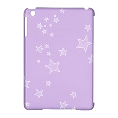 Star Lavender Purple Space Apple Ipad Mini Hardshell Case (compatible With Smart Cover) by Alisyart