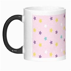 Star Rainbow Coror Purple Gold White Blue Morph Mugs by Alisyart