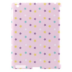 Star Rainbow Coror Purple Gold White Blue Apple Ipad 3/4 Hardshell Case (compatible With Smart Cover) by Alisyart