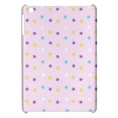 Star Rainbow Coror Purple Gold White Blue Apple Ipad Mini Hardshell Case by Alisyart