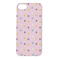 Star Rainbow Coror Purple Gold White Blue Apple Iphone 5s/ Se Hardshell Case by Alisyart