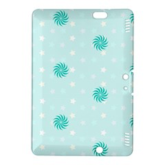 Star White Fan Blue Kindle Fire Hdx 8 9  Hardshell Case by Alisyart