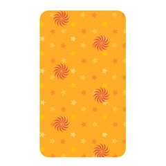Star White Fan Orange Gold Memory Card Reader by Alisyart