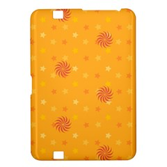 Star White Fan Orange Gold Kindle Fire Hd 8 9  by Alisyart