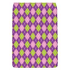 Plaid Triangle Line Wave Chevron Green Purple Grey Beauty Argyle Flap Covers (s)  by Alisyart