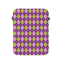 Plaid Triangle Line Wave Chevron Green Purple Grey Beauty Argyle Apple Ipad 2/3/4 Protective Soft Cases by Alisyart