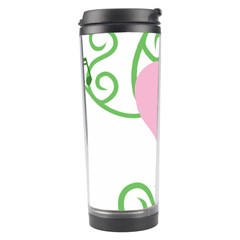 Sweetie Belle s Love Heart Music Note Leaf Green Pink Travel Tumbler by Alisyart