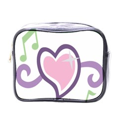 Sweetie Belle s Love Heart Star Music Note Green Pink Purple Mini Toiletries Bags by Alisyart