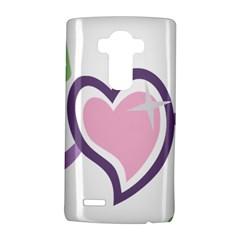 Sweetie Belle s Love Heart Star Music Note Green Pink Purple Lg G4 Hardshell Case by Alisyart