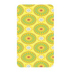 Sunflower Floral Yellow Blue Circle Memory Card Reader by Alisyart
