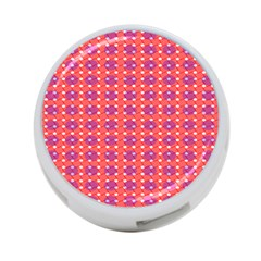 Roll Circle Plaid Triangle Red Pink White Wave Chevron 4 Port Usb Hub (one Side) by Alisyart