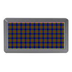 Tartan Fabrik Plaid Color Rainbow Memory Card Reader (mini) by Alisyart