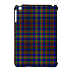 Tartan Fabrik Plaid Color Rainbow Apple Ipad Mini Hardshell Case (compatible With Smart Cover) by Alisyart