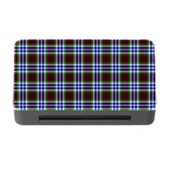 Tartan Fabrik Plaid Color Rainbow Triangle Memory Card Reader With Cf by Alisyart