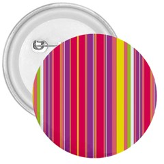 Stripes Colorful Background 3  Buttons by Simbadda