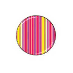 Stripes Colorful Background Hat Clip Ball Marker (4 Pack) by Simbadda