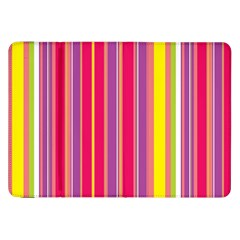 Stripes Colorful Background Samsung Galaxy Tab 8 9  P7300 Flip Case by Simbadda