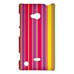 Stripes Colorful Background Nokia Lumia 720 by Simbadda