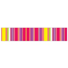 Stripes Colorful Background Flano Scarf (small) by Simbadda