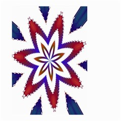 Fractal Flower Small Garden Flag (two Sides) by Simbadda