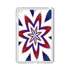 Fractal Flower Ipad Mini 2 Enamel Coated Cases by Simbadda