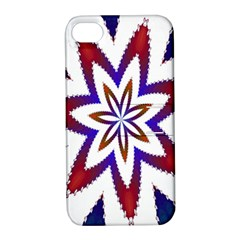Fractal Flower Apple Iphone 4/4s Hardshell Case With Stand by Simbadda