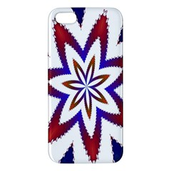Fractal Flower Iphone 5s/ Se Premium Hardshell Case by Simbadda