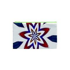 Fractal Flower Cosmetic Bag (xs) by Simbadda
