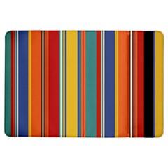 Stripes Background Colorful Ipad Air Flip by Simbadda