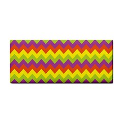 Colorful Zigzag Stripes Background Cosmetic Storage Cases by Simbadda