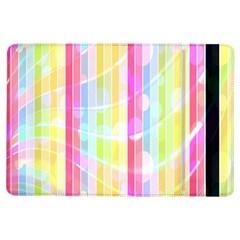 Abstract Stripes Colorful Background Ipad Air Flip by Simbadda