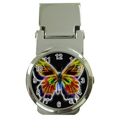 Fractal Butterfly Money Clip Watches by Simbadda