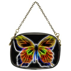 Fractal Butterfly Chain Purses (one Side)  by Simbadda
