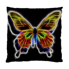 Fractal Butterfly Standard Cushion Case (two Sides) by Simbadda