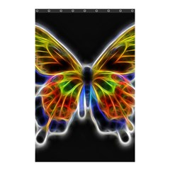 Fractal Butterfly Shower Curtain 48  X 72  (small)  by Simbadda