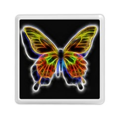 Fractal Butterfly Memory Card Reader (square)  by Simbadda