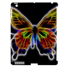 Fractal Butterfly Apple Ipad 3/4 Hardshell Case (compatible With Smart Cover) by Simbadda