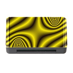 Yellow Fractal Memory Card Reader With Cf by Simbadda